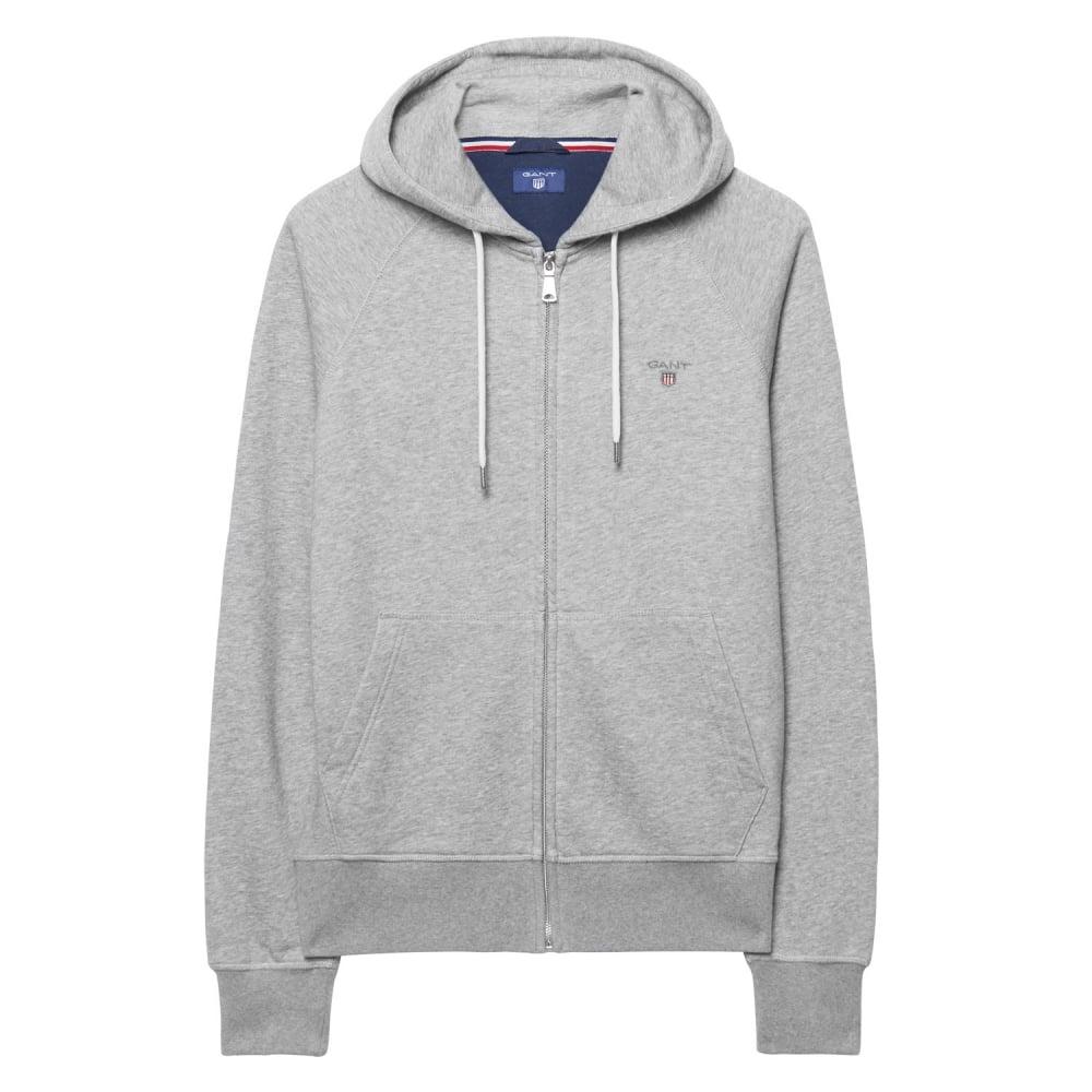bcac9b83afeb3 GANT ORIGINAL FULL ZIP SWEAT HOODIE - Sweats from Signature Menswear UK