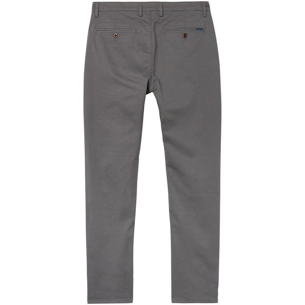 utloppsbutik klassisk passform bästa värde GANT REGULAR TWILL CHINO - Denims from Signature Menswear UK