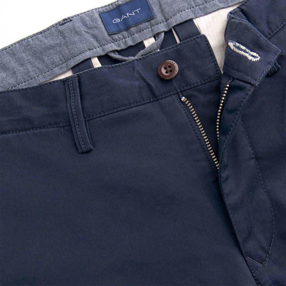 Storbritannien billig försäljning bästsäljare ser bra ut försäljning GANT REGULAR TWILL CHINOS - Bottoms from Signature Menswear UK