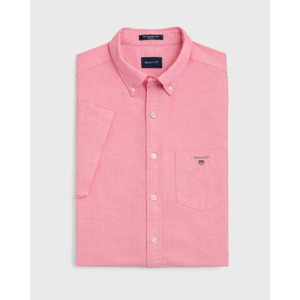 GANT THE OXFORD SHIRT REG SS BD - Shirts from Signature Menswear UK 03ddd4246dec