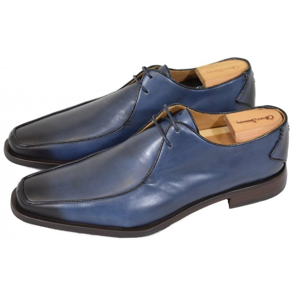 OLIVER SWEENEY NAPOLI BLUE SHOES